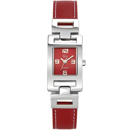 Montre rectangulaire femme rouge Go Girl Only