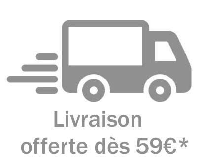 Livraison à domicile offerte