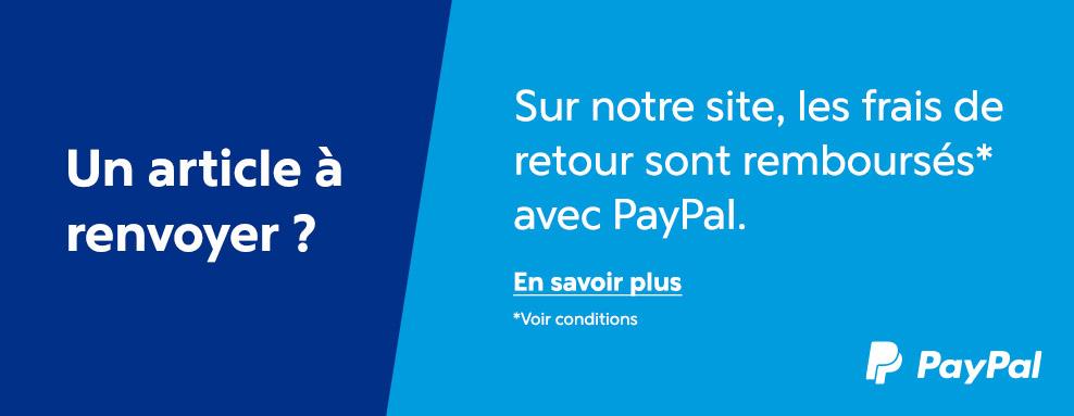 Retour gratuit Paypal